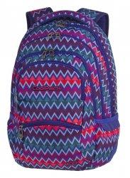 Plecak szkolny młodzieżowy COOLPACK COLLEGE kolorowe zygzaki, CHEVRON STRIPES (82355CP)