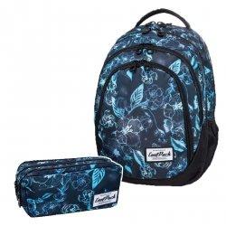 ZESTAW 2 el. Plecak CoolPack DRAFTER w podwodne kwiaty, UNDERWATER DREAM (B05022SET2CZ)