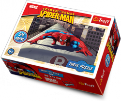 TREFL Puzzle mini 54 el. Spider Man (19374)