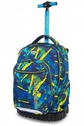 Plecak CoolPack SWIFT na kółkach w żółte wzory, ABSTRACT YELLOW (B04007)