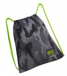WOREK CoolPack SPRINT sportowy na obuwie klasyczne moro z zielonymi dodatkami, CAMO GREEN NEON (90452CP)