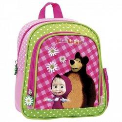 Plecak przedszkolny wycieczkowy MASZA I NIEDŹWIEDŹ (PL10MN11)
