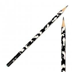 Ołówek szkolny trójkątny KIDEA HB CATS Koty Kotki (OTNKA)