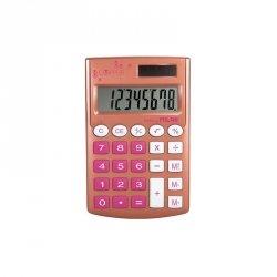 Kalkulator kieszonkowy SZKOLNY Milan Copper różowy (159506CP)