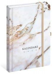 Kalendarz książkowy A5 MARBLE Marmur 2020 (73222)
