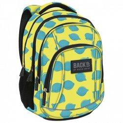 ZESTAW 2 el. Plecak szkolny młodzieżowy BackUP LIMONKI (PLB2A23SET2CZ)