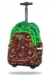 Plecak CoolPack STARR 27 L na kółkach miejska dżungla, CITY JUNGLE (C35199)