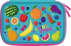 Piórnik Bambino bez wyposażenia 3D Fruits Owoce dwuklapkowy (74100)