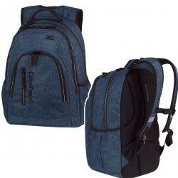 Plecak CoolPack MERCATOR PLUS SNOW BLUE/ SILVER niebieski 31L (88534)
