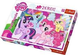 TREFL Puzzle MAXI 24 el. MY LITTLE PONY, Przyjaźń to magia (14182)