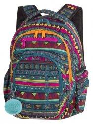 PLECAK CoolPack FLASH meksykański wzór, MEXICAN TRIP + pompon (85403CP)