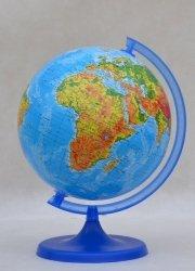 Globus fizyczny 220 mm mapa fizyczna (0218)