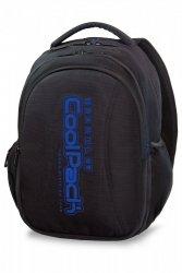 Plecak CoolPack JOY XL czarny z niebieskimi dodatkami, SUPER BLUE (A22115)