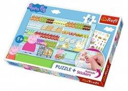 TREFL Puzzle 35 el. Świnka Peppa na zakupach (75117)