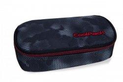 Piórnik CoolPack CAMPUS czarny z czerwonymi dodatkami, MISTY RED (B62006)