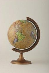 Globus polityczny RETRO 110 mm mapa polityczna (1512)