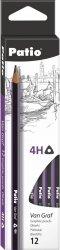 Ołówek szkolny trójkątny VanGraf 4H PATIO (44523PTR)