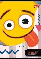 Zeszyt A5 w kolorową linię 32 kartki Emoji EMOTIKONY (42267)