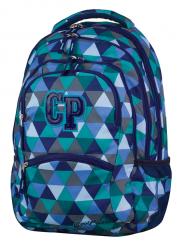 Plecak szkolny młodzieżowy CoolPack COLLEGE 2 w kolorowe trójkąty, PRISMA (78122)