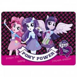 Podkładka laminowana My Little Pony EQUESTRIA GIRLS (PLAEG)