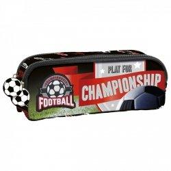 Piórnik dwukomorowy FOOTBALL Piłka nożna (PDZPI13)