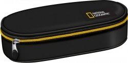 Piórnik szkolny ST.RIGHT czarny z żółtymi dodatkami NATIONAL GEOGRAPHIC PC1 (42557)