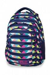 Plecak CoolPack COLLEGE TECH w kolorowe pasy, CANCUN (B36101)