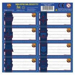 Nalepki na zeszyty FC BARCELONA (NNZBC)