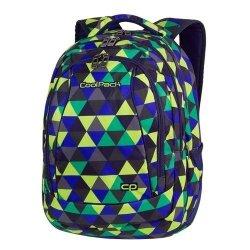 Plecak CoolPack COMBO 2w1 PRISM ILLUSION kolorowe trójkąty 29L (81846)