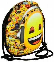 Plecak Worek na sznurkach Emoji EMOTIKONY SO15 (42175)