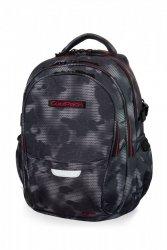 Plecak CoolPack FACTOR czarny z czerwonymi dodatkami, MISTY RED (B02006)
