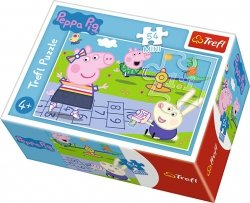 TREFL Puzzle mini 54 el. Świnka Peppa na placu zabaw (19627)