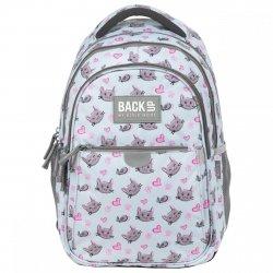 Plecak wczesnoszkolny BackUP 22 L KOTKI I MYSZKI (PLB3P33)