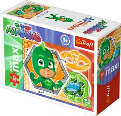 TREFL Puzzle miniMaxi 20 el. PJ MASKS Pidżamersi GEKSON (21042)