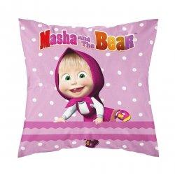 Poszewka na poduszkę MASZA I NIEDŹWIEDŹ 40 x 40 cm (MASHA026)
