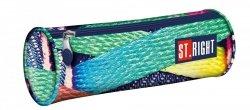 Piórnik tuba St.Right SHOE kolorowe sznurówki (15207)