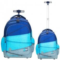 Plecak szkolny młodzieżowy na kółkach ST.RIGHT w melanżowe paski, MELANGE STRIPES TB1 (26975)