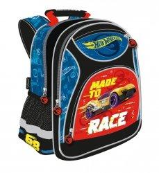 Plecak szkolny HOT WHEELS, Samochody Wyścigowe (11518)