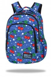 Plecak wczesnoszkolny CoolPack PRIME 23 L wiśnie, CHERRIES (C25238)