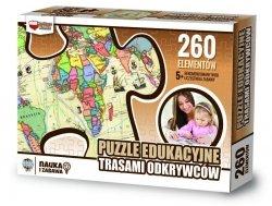 ZACHEM Puzzle 260 el. Trasami odkrywców, PUZZLE EDUKACYJNE (8047)