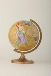 Globus polityczny RETRO 160 mm mapa polityczna (1611)