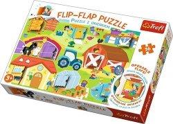 TREFL Puzzle z okienkiem 36 el. Na farmie (14271)