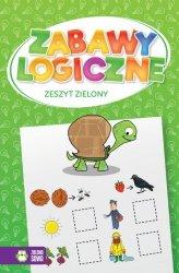 Zabawy logiczne. Zeszyt zielony (44153)