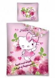 Komplet pościeli pościel Hello Kitty 160 x 200 cm (HK23DC)