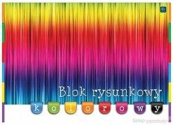 Blok rysunkowy A3 KOLOROWY barwiony w masie kolorowe kartki (58311)