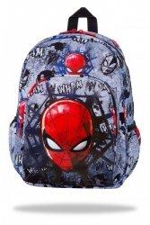 Plecak wycieczkowy CoolPack TOBY Spiderman na szarym tyle, SPIDERMAN BLACK (B49303)