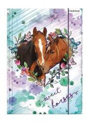 Teczka rysunkowa A4 z gumką SWEET HORSES Konie (298952)