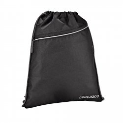 Coocazoo worek na obuwie RocketPocket 2, Beautiful Black (129932)