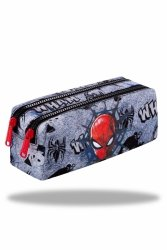 Piórnik CoolPack EDGE Spiderman na szarym tle, SPIDERMAN BLACK (B69303)