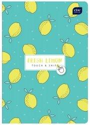 Zeszyt zapachowy A5 60 kartek w linię FRESH LEMON cytryna (67269)